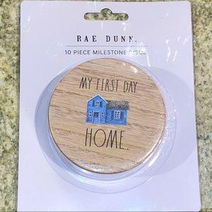 Rae Dunn First Year Baby Milestone Discs - NEW